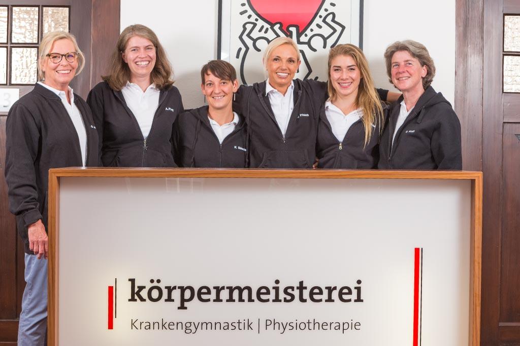 körpermeisterei-Physiotherapie-Krankengymnastik-Pforzheim-Teambild